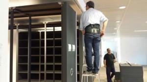 Mudanzas y montaje de mobiliario de oficina