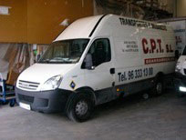 empresa de mudanzas y transportes en valencia CPT