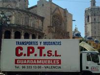 mudanza en valencia por empresa CPT