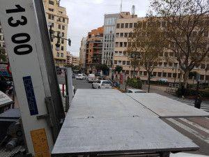 alquiler de plataformas elevadoras para mudanzas en Valencia