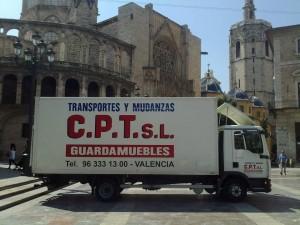 Mudanzas Valencia CPT