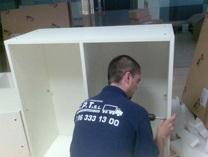 montaje de muebles de oficina en Valencia Mudanzas CPT