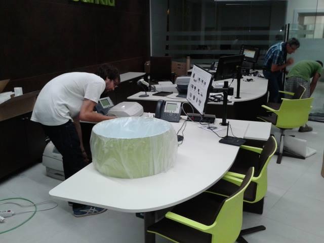 Des-Montaje de muebles (mobiliario) de oficinas en Valencia Mudanzas CPT