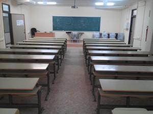 Montaje Aula en Universidad de Valencia Mudanzas CPT