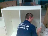 montaje de mobiliario por mudanzas CPT valencia