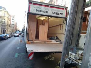 Empresa de transportes internacionales CPT en Valencia